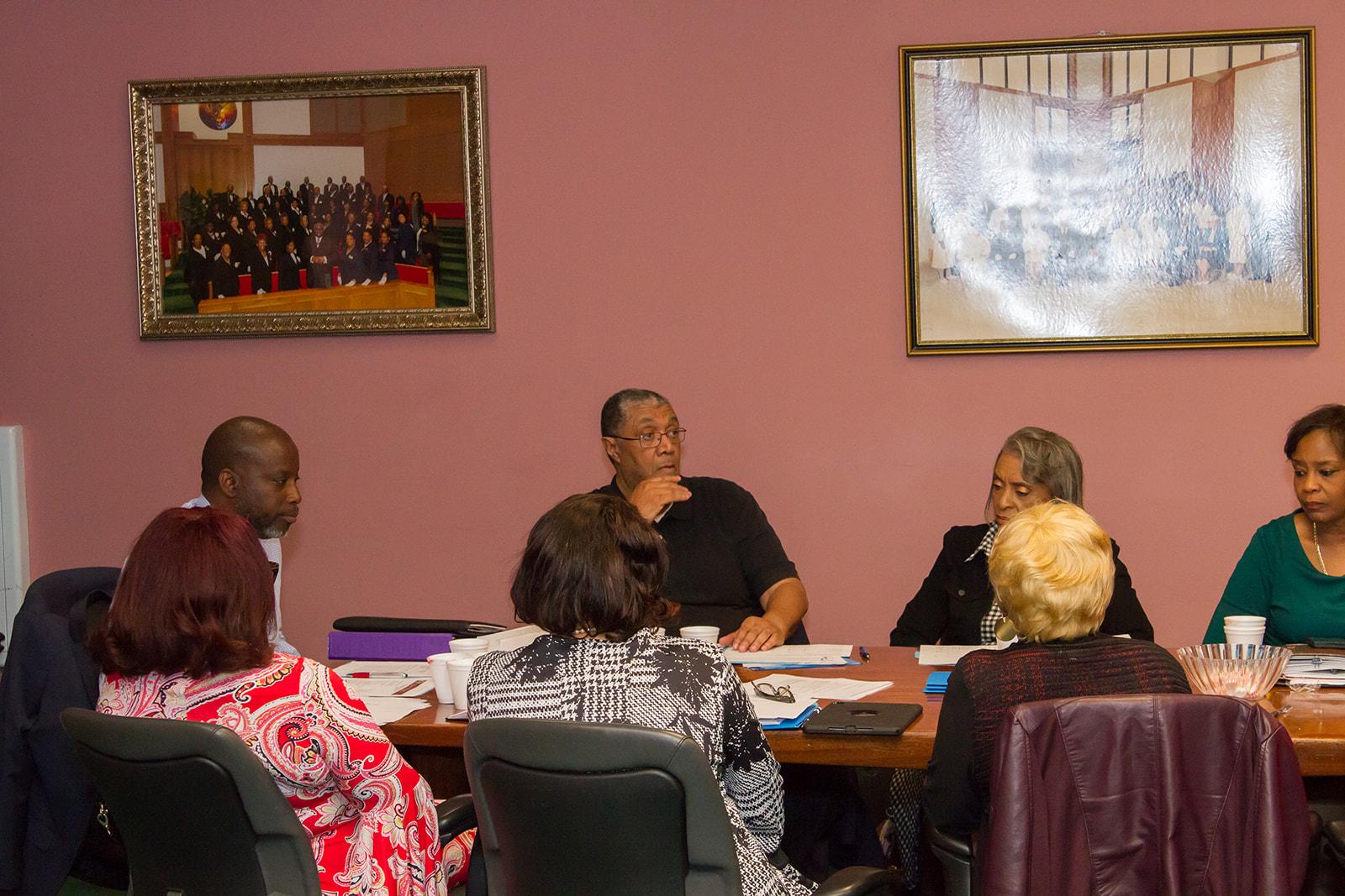 New Shiloh Village CDC meeting